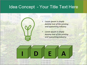 Green house PowerPoint Template - Slide 80