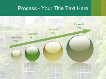 Green house PowerPoint Template - Slide 87
