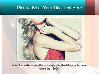 Beautiful girl in sunglasses PowerPoint Templates - Slide 16