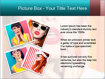 Beautiful girl in sunglasses PowerPoint Templates - Slide 23