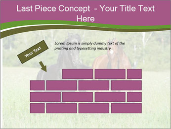 Horses PowerPoint Template - Slide 46