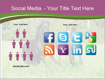 Horses PowerPoint Template - Slide 5