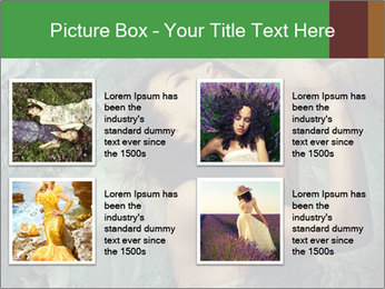 Incredible girl PowerPoint Templates - Slide 14