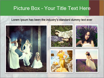 Incredible girl PowerPoint Templates - Slide 19