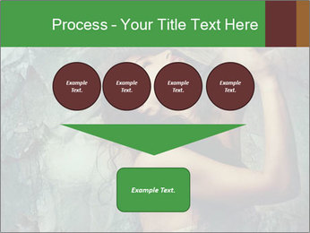 Incredible girl PowerPoint Template - Slide 93
