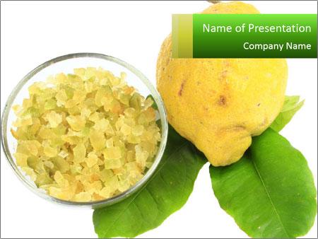Citrus PowerPoint Template