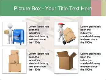 Packing boxes PowerPoint Template - Slide 14
