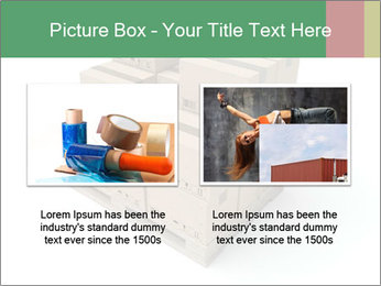 Packing boxes PowerPoint Template - Slide 18