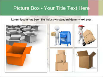 Packing boxes PowerPoint Template - Slide 19