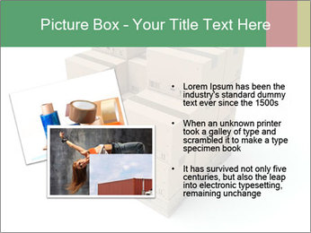 Packing boxes PowerPoint Template - Slide 20