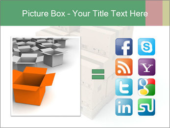 Packing boxes PowerPoint Template - Slide 21