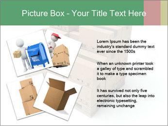Packing boxes PowerPoint Template - Slide 23