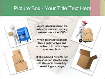Packing boxes PowerPoint Template - Slide 24