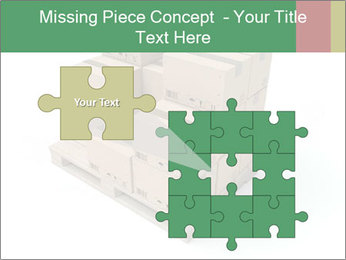 Packing boxes PowerPoint Template - Slide 45