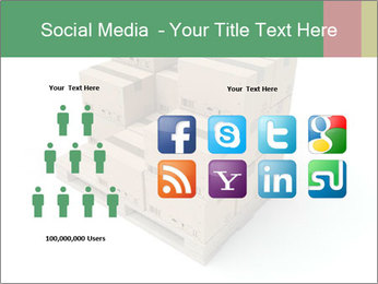 Packing boxes PowerPoint Template - Slide 5