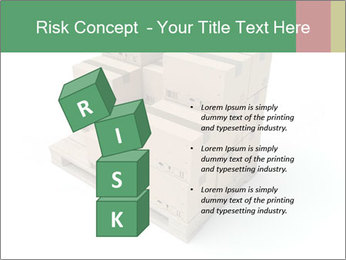 Packing boxes PowerPoint Template - Slide 81