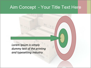 Packing boxes PowerPoint Template - Slide 83