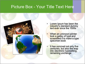 Planet in different colors PowerPoint Template - Slide 20