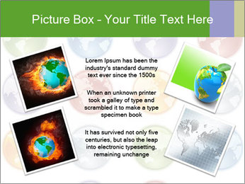 Planet in different colors PowerPoint Template - Slide 24