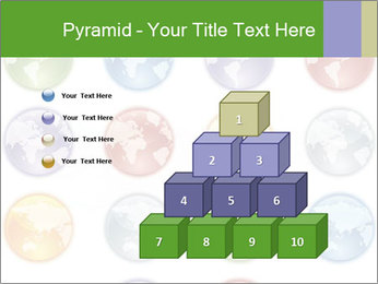 Planet in different colors PowerPoint Template - Slide 31
