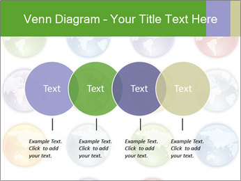 Planet in different colors PowerPoint Template - Slide 32