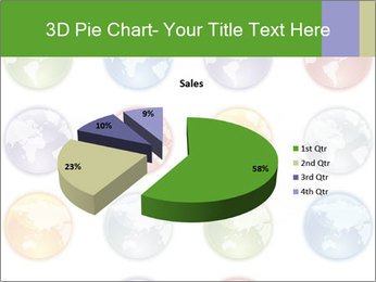 Planet in different colors PowerPoint Template - Slide 35