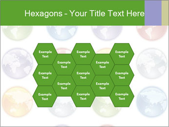 Planet in different colors PowerPoint Template - Slide 44