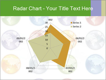 Planet in different colors PowerPoint Template - Slide 51