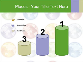 Planet in different colors PowerPoint Template - Slide 65