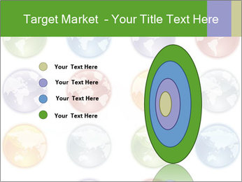 Planet in different colors PowerPoint Template - Slide 84