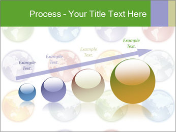 Planet in different colors PowerPoint Template - Slide 87