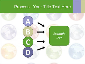Planet in different colors PowerPoint Template - Slide 94