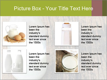 Bottle of milk PowerPoint Template - Slide 14
