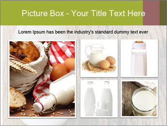 Bottle of milk PowerPoint Template - Slide 19