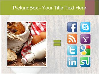 Bottle of milk PowerPoint Template - Slide 21