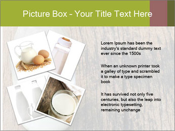 Bottle of milk PowerPoint Template - Slide 23