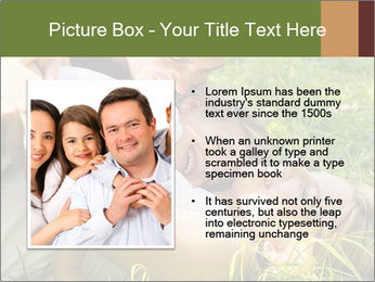 A happy family PowerPoint Templates - Slide 13