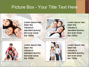 A happy family PowerPoint Template - Slide 14