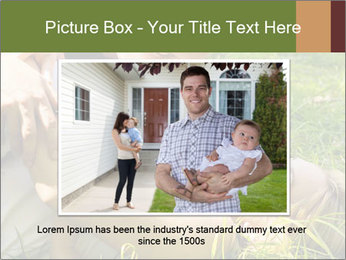 A happy family PowerPoint Template - Slide 15