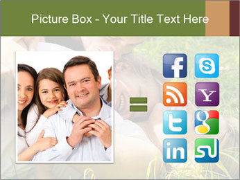 A happy family PowerPoint Template - Slide 21