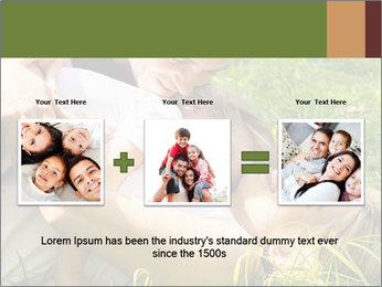 A happy family PowerPoint Template - Slide 22