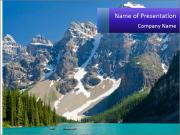 Mountain view PowerPoint Templates