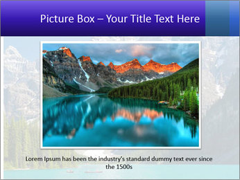 Mountain view PowerPoint Template - Slide 16