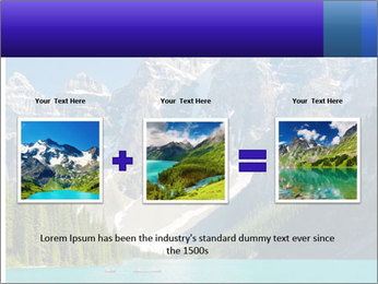 Mountain view PowerPoint Template - Slide 22