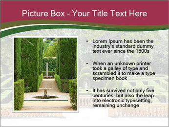 Labyrinth PowerPoint Template - Slide 13