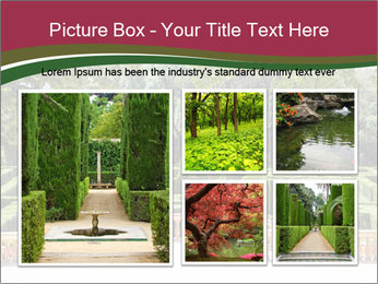 Labyrinth PowerPoint Template - Slide 19