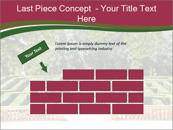Labyrinth PowerPoint Template - Slide 46
