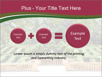 Labyrinth PowerPoint Template - Slide 75