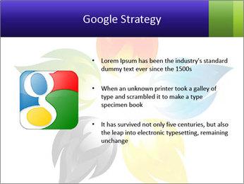 Fire flower PowerPoint Template - Slide 10