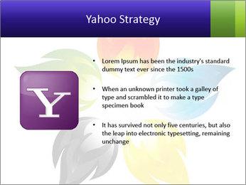 Fire flower PowerPoint Template - Slide 11